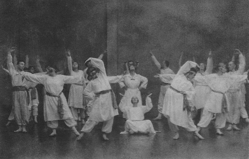Charles Stanley Nott incontra i movimenti e danze sacre di Gurdjieff